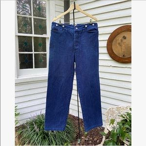 Vtg High Waisted Frontier Jeans